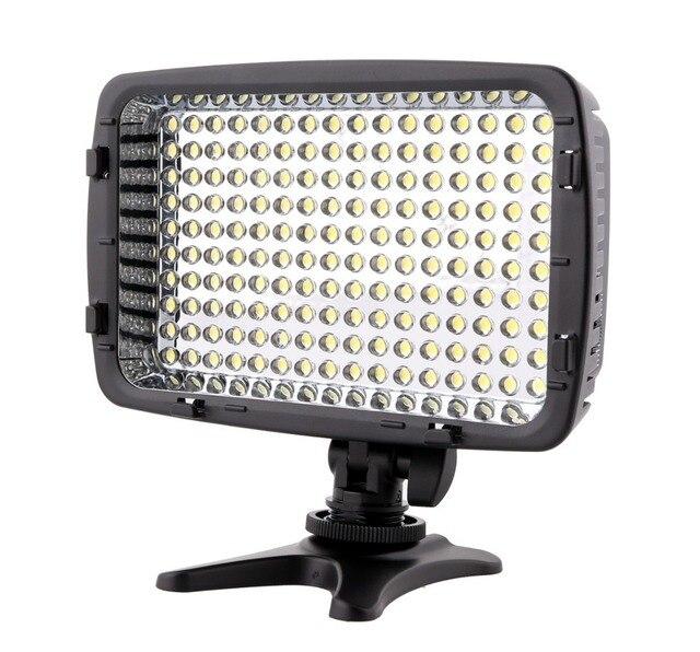 Meike MK160 LED Video Light  for Nikon D70 D90 D300 D600 D3000 D3100 D3200 D5000 D5100 D5200 D7000 D7100 DSLR Camera