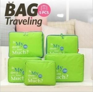 Image 3 - Outdoor Travel 5 Paper Set Storage Bag Accept Package Waterproof Closet Organizer Vacuum Bag For Clothes Sac Rangement Sous Vide