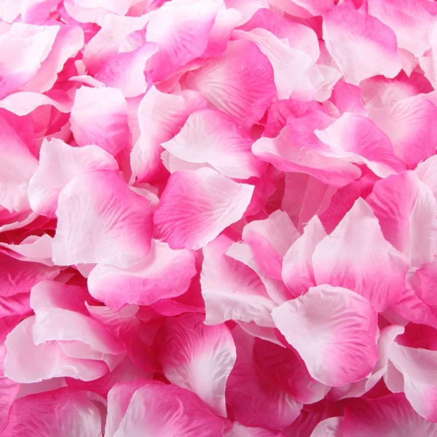 2017 Hot Selling 1000pcs Silk Rose Petals Artificial