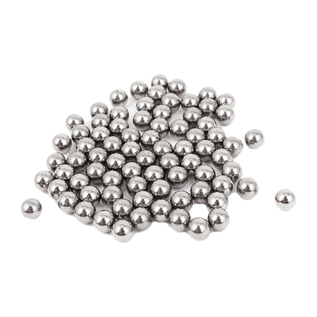80 Pieces Bicycle Wheel Impeller Carbon Steel Ball Bearing 6mm Diameter Bicycle Parts In