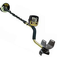 US FISHER underground metal detector / archaeological treasure lock identification treasure hunt