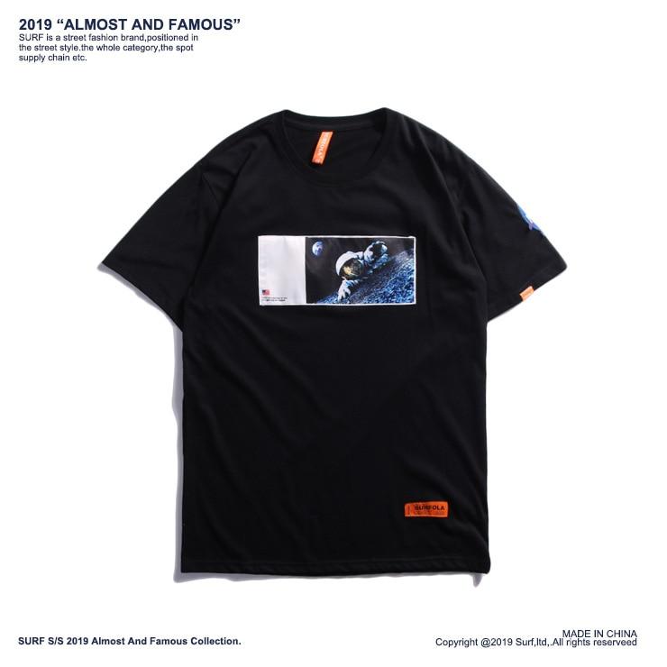 LISER t-shirt hommes 2019 été surdimensionné lâche couple t-shirt femmes décontracté imprimé couverture en coton t-shirts Streetwear Harajuku t-shirts