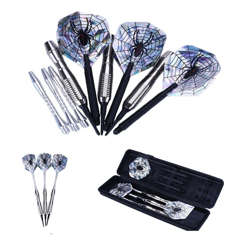 3Pcs Steel Tip Electronic Darts 18g Shafts Nice Flight Harrow Point Wing Needle Barrel Throwing