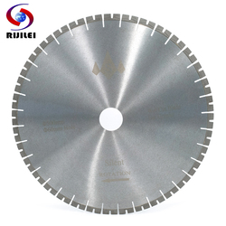 RIJILEI 500MM Silent Marble granite diamond saw blades cutter blade for granite marble stone cutting circular Cutting Tools