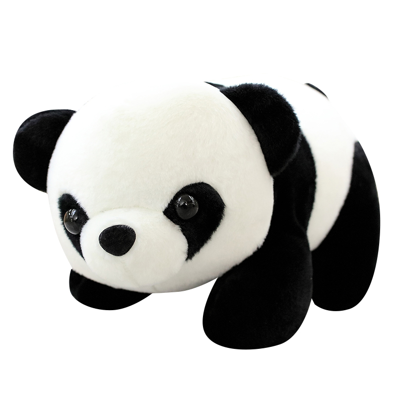 25cm Kawaii China Panda Plush Toys Kids Lovely Bear Stuffed Soft Figure Toys Baby Cute Animal Birthday Gifts