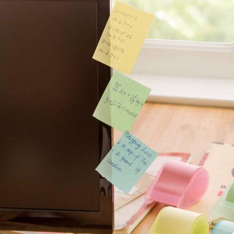 söt brevpapper Memo Pads Bälte tejphållare notis Kreativa - Block och anteckningsböcker - Foto 3