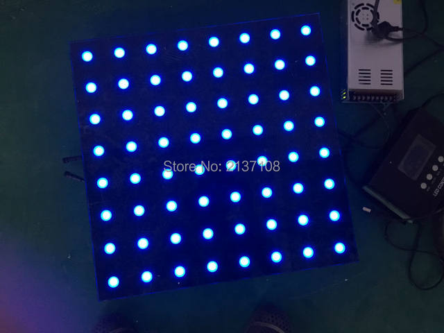 Online shop 1212 pixel led interactive lighted dance floor 5050cm 1212 pixel led interactive lighted dance floor 5050cm dj disco party wedding stage lighting equipment free shipping tyukafo