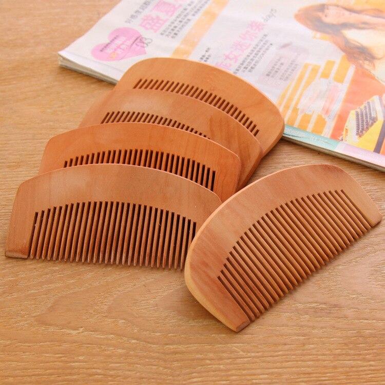 cshou43 Peachwood Comb Combs Keep Off Teeth Anti Static Straight Hair Massage Small Comb