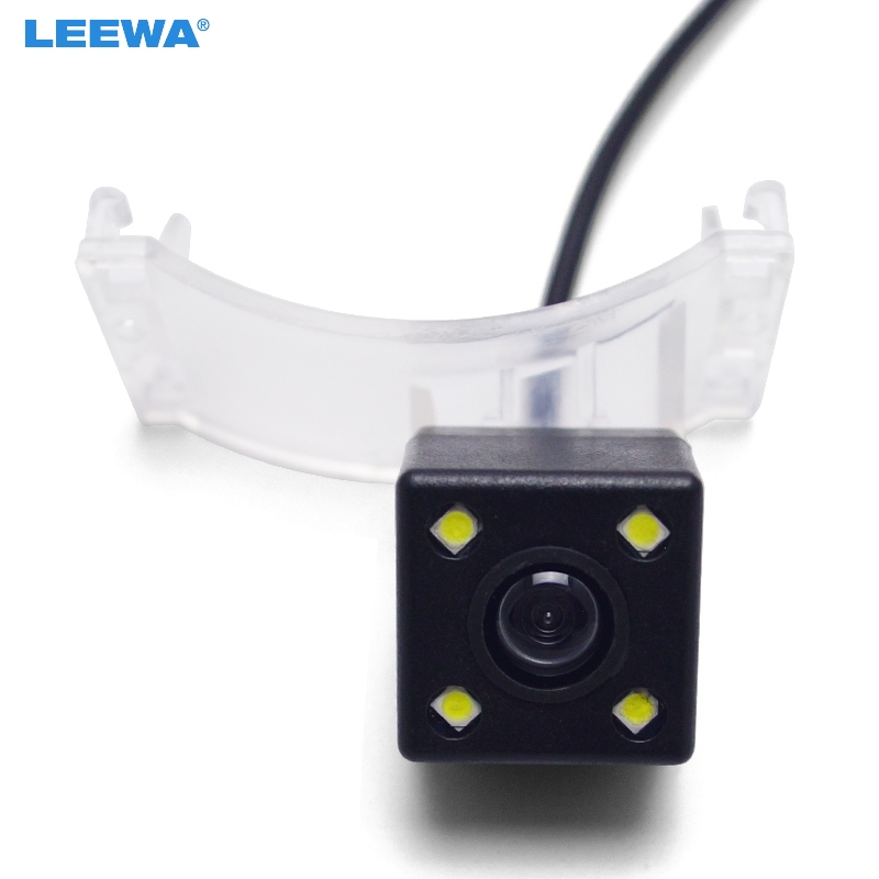 LEEWA Car HD CCD Rear View Camera For <font><b>Mazda</b></font> 5 M5 <font><b>2011</b></font> 2012/<font><b>CX</b></font>-<font><b>9</b></font> Parking Assist Backup Camera #CA3951 image
