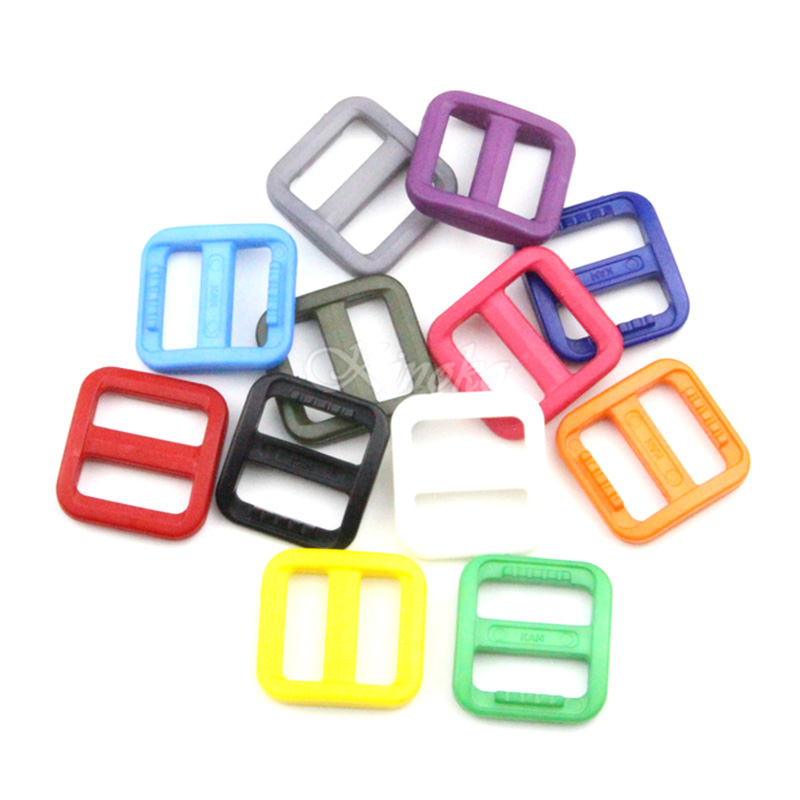 Arts,crafts & Sewing Apparel Sewing & Fabric 20pcs/lot 5/8plastic Slider Tri Glide Adjust Buckles For Dog Collar Harness Straps Webbing 15mm #a022 Mixed Color