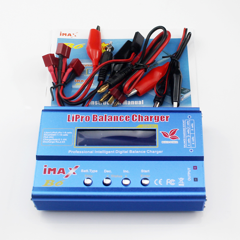 IMAX B6 80W 2S~6S Lipo Battery Balance Charger for RC Helicopter Plane Car Boat