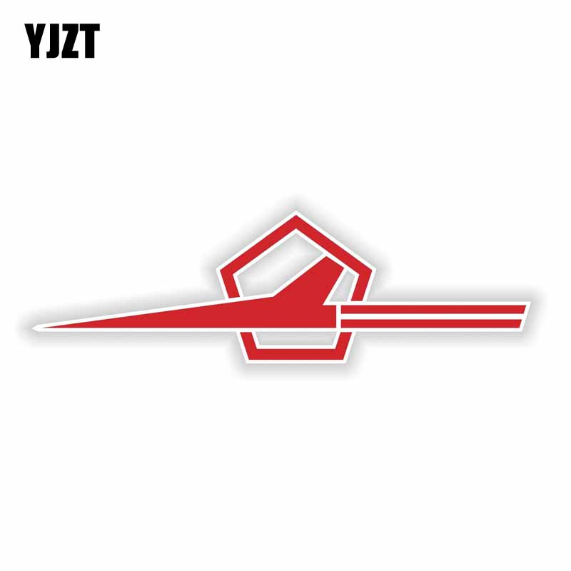 YJZT 12.7CM*3.7CM Soviet Aviation New Forces Car Sticker Car Helmet Body Decal 6-2181