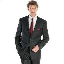 business suits men dark gray custom made suit tuxedo classic suit wedding prom wear 2016