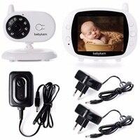 Babykam фетальный Доплер видео няня радио 3,5 дюйма TFT ЖК дисплей ИК Ночное видение 2 способ обсуждения 4 устройство контроля температуры малыша В