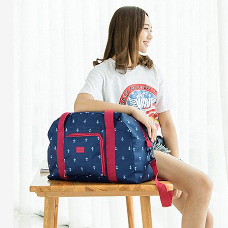 IUX New Folding Travel Bag Travel Bags Large Capacity Bag Large Capacity Unisex Luggage Packing Travel Handbags Travel Handbags тканевый пенал large capacity bag