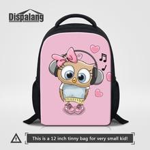 Dispalang Cute Lucky Owl Backpack Gift For Girls 12 Inch Small Mochila Escolar Infantil Kids School Bookbags Child Mini Rucksack