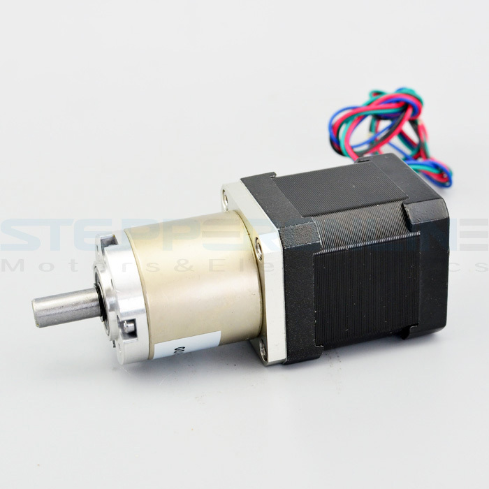 Gear ratio 99 1 planetary gearbox stepper motor nema for Planetary gearbox for servo motor