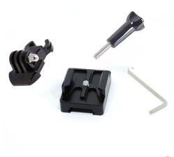 Picatinny-Adaptador de aluminio para pistola Weaver, 20mm, hebilla de montaje de cámara para Gopro Hero 6/3 + 5/4/3, accesorios para Cámaras Deportivas
