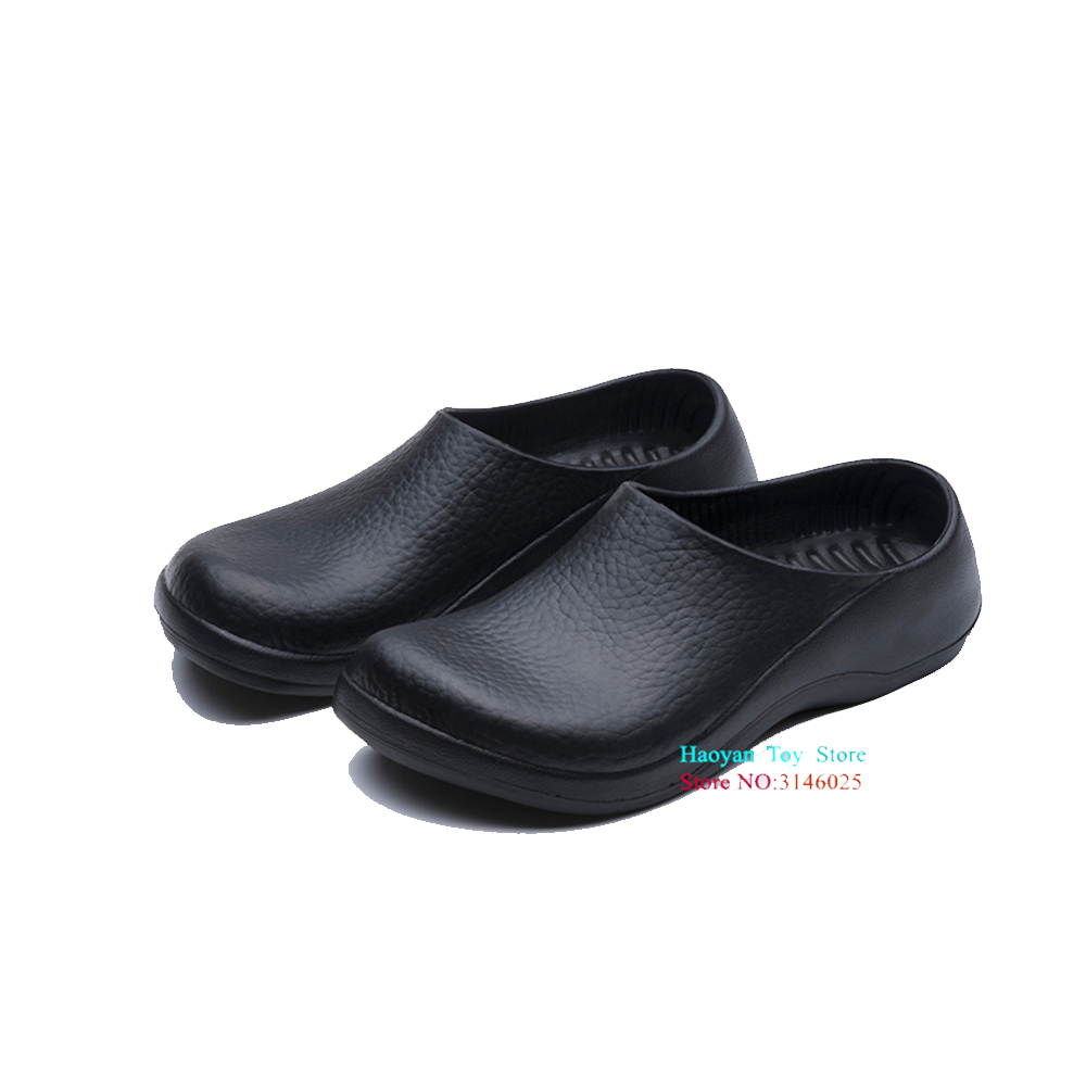 New Chef Big Kids Kitchen Working Slippers Garden Shoes Summer Breathable Beach Flat With Shoes Mules Clogs Boy EVA Shoes TX0055 2016 new summer lady s clogs beach sandals lazy man shoes slippers casual shoes men women eva garden shoes breathable hole shoes