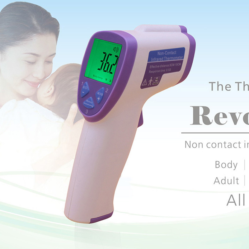 For Baby/Adult Electronic Digital Thermometer Non Contact Infrared IR Forehead Muti-fuction Infant