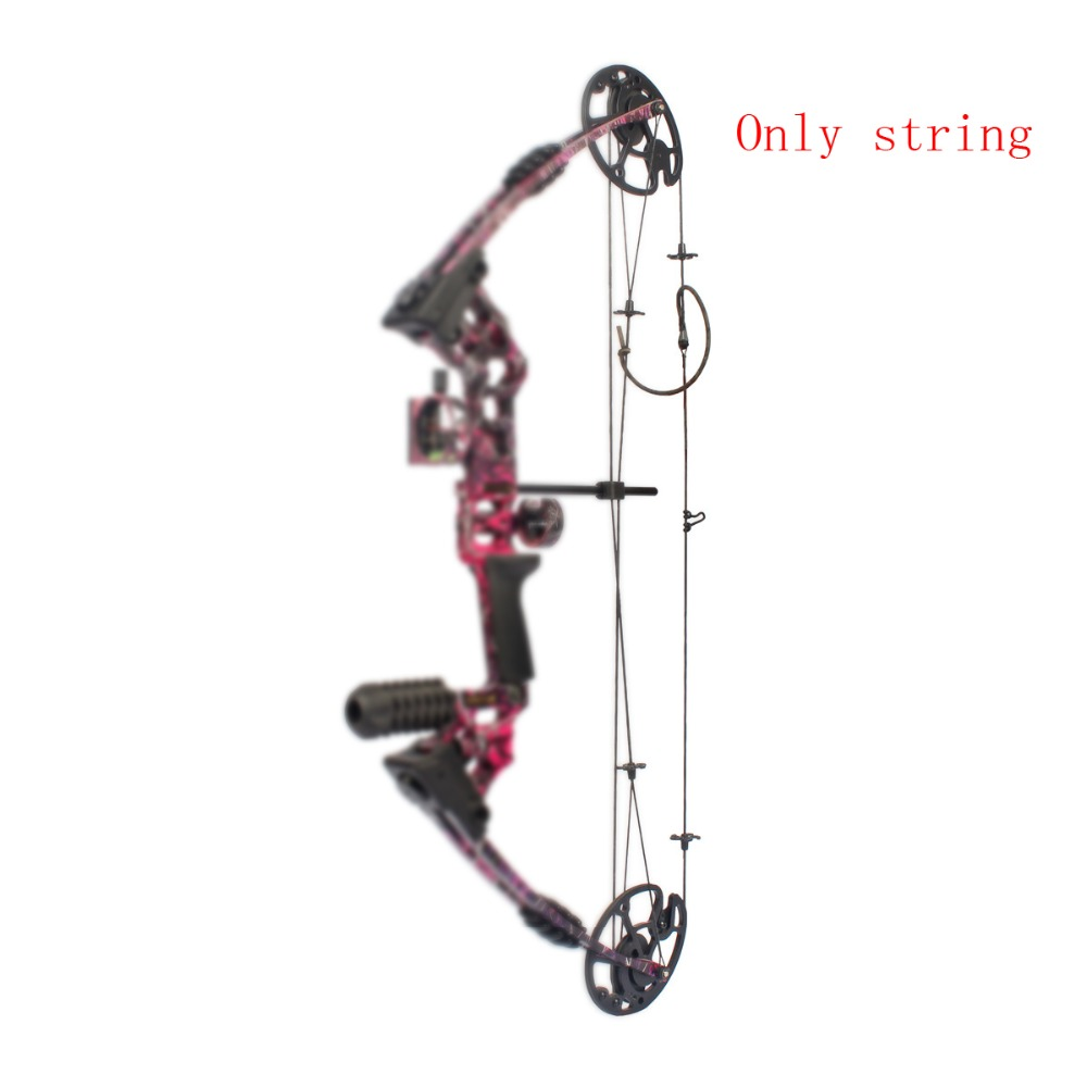 Compound Bow String In Set Bow Accessory For JunXing M120 Compound Bow Archery Hunting Shooting