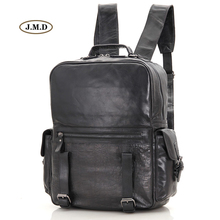J.M.D New Arrivals Genuine Leather Classic Design Unisex Fashion Backpack Bag School Bag Rucksack Bag for Young People 7355  цена 2017