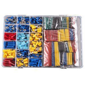 Image 2 - 558 pièces PVC et cuivre thermorétractable Tube gaine Kit voiture fil bornes électriques sertissage connecteurs avec boîte en plastique Drop Shopping
