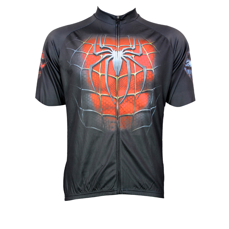 New Red Spider Cycling shirt bike equipment Mens Cycling Jersey Cycling Clothing Bike Shirt Size 2XS TO 5XL ILPALADIN
