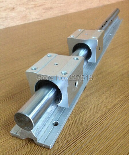 1pcs linear rail SBR16 L400mm + 2pcs SBR16UU linear bearing blocks for cnc parts 16mm linear guide 2pcs linear rail sbr16 l1000mm 4 pcs sbr16uu linear bearing blocks for cnc parts 16mm linear guide