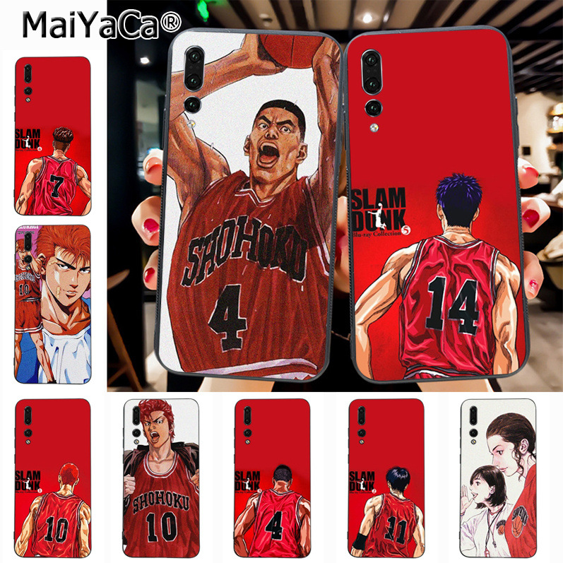 Maiyaca SLAM DUNK On Sale! Luxury Cool phone Case for Huawei P20 P20 pro Mate10 P10 Plus Honor9 cass(China)