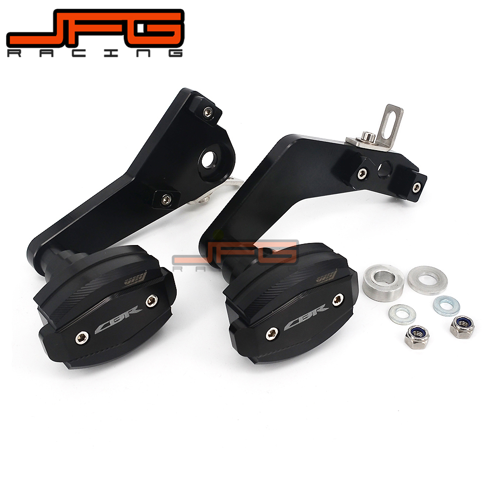 Motorcycle CNC Frame Crash Pads Engine Case Sliders Protector For HONDA CBR600 RR CBR600RR CBR 600 RR 2013 2014 2015 13 14 15
