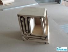 IWISTAO głośnik hifi puste zestawy szafek struktura labiryntu z płytą pilśniową o wysokiej gęstości do 2.54 cali Full Range Spk Unit DIY