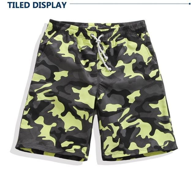2016 Sólido Pantalones Cortos Bermudas de Secado Rápido masculinos Sportwear más tamaño los Cortocircuitos de la Marca Para Hombre Ropa de Playa bañadores
