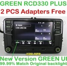 AIDUAUTO RCD330 Plus Radio de la Tecla Verde Para Skoda Octavia fabia