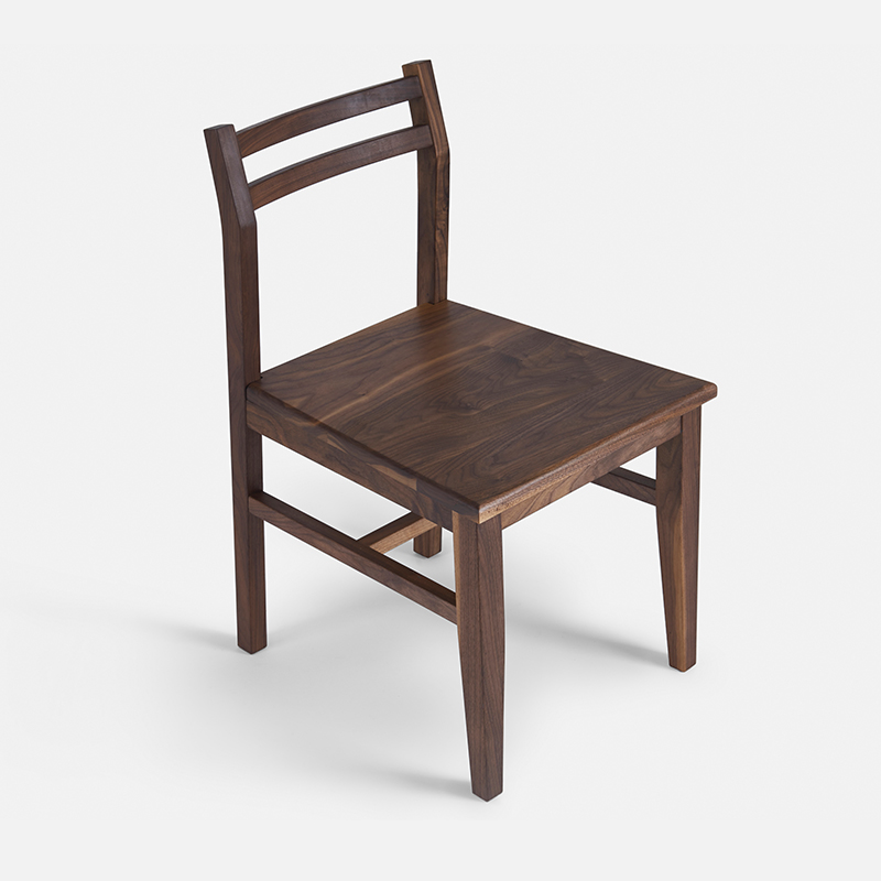 the new north american black walnut wood chair upholstered chair desk chair wood wax tenon ch177 natural side chair walnut ash