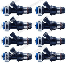 8pcs High Flow performance 550cc Fit for 2002-2004 Chevrolet Avalanche 1500 2002-2006 Cadillac Fuel injectors Freeshipping