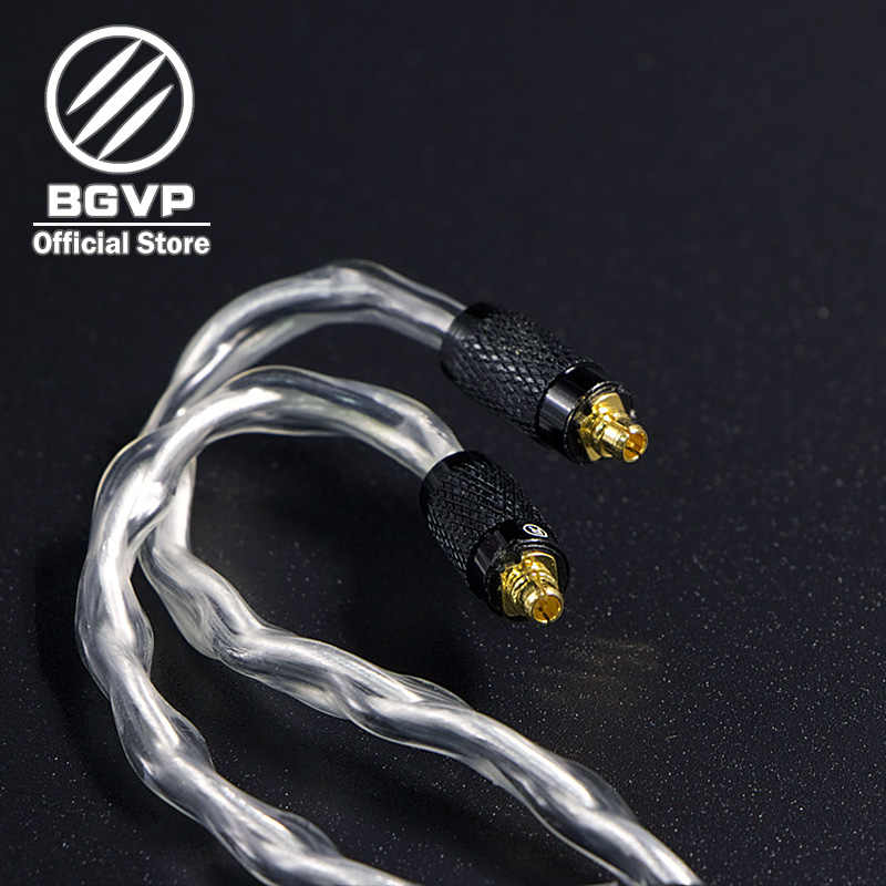 BGVP 6N 600 rdzeń słuchawki Hybrid kabel 2.5mm 3.5mm 4.4mm DIY kabla MMCX wymienne słuchawki Hifi aktualizacji kabel DM6