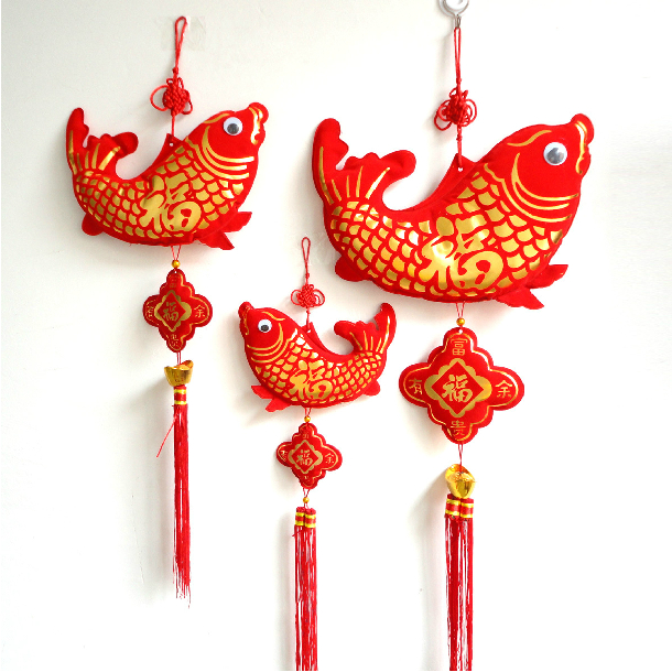 2 Pcs Chinese New Year Spring Festival Couplets House Gate