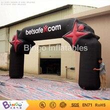 Бесплатная доставка поддержки свода стопы надувные сад арки цифровой печати воздуха Арка с мотором BG-A0293 игрушка
