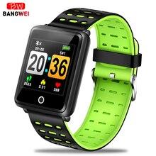 2019 New Smart bracelet Mens women watch Heart rate wristband Blood pressure monitor Sport Mode Fitness tracker Bluetooth