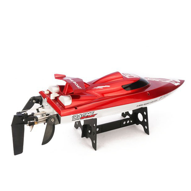 (In stock) 100% Original Feilun FT012 Brushless Motor 4CH RC Boat Water Cooling High Speed Racing RC Boat 45KM/H RTF 2.4GHz