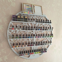 The Iron Nail Polish Shelf Display Rack Hanging Rack Manicure Special Cosmetics Boutique Store Shelves