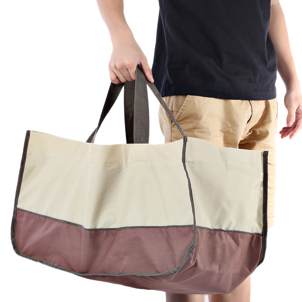 High Quality 600d Oxford Large Capacity Tote Handbag Durable Wear Resistant Veranda Log Firewood Carrying Bag Outdoor Bags In Climbing From Sports