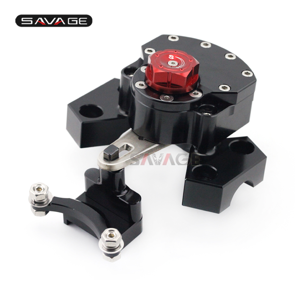 Reversed Safety Steering Damper For KAWASAKI Z 800 Z800 2013-2016 14 15 Motorcycle Accessories Stabilizer with Mount Bracket