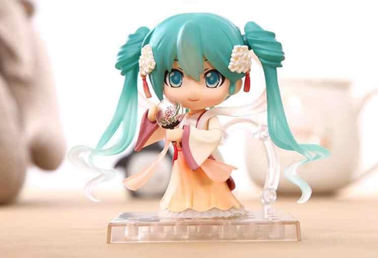 New hot figma Hatsune Miku nendoroid anime toy figuras brinquedos Coleção figuras de ação & toy presente para crianças juguetes