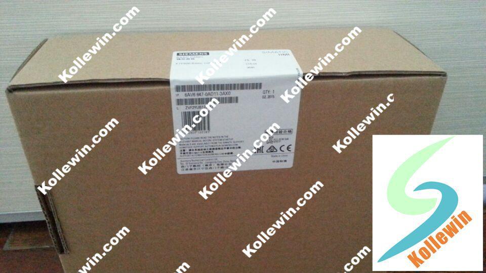 Original SIMATIC HMI 6AV6647-0AD11-3AX0, KTP600 Baisic Color PN, 6AV6 647-0AD11-3AX0 Basic Color, 6 TFT Dispay 6AV66470AD113AX0 original 6av66470ah113ax0 touch panel simatic hmi kp300 key operation 3 fstn lcd 6av6647 0ah11 3ax0 6av6 647 0ah11 3ax0