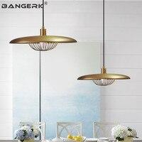 Промышленный ветровой Железный Деревянный светильник винтажный светодиодный подвесной светильник скандинавского дизайна Лофт подвесной