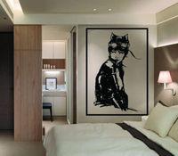 Large DC Comics Catwoman Vinyl Wall Art Mural Sticker Home Decor Living Room Free Shipping