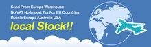 Europa almacén de coste de envío. enviará el paquete de Europa almacén.