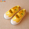 New Boys Girls Baby Canvas Children Shoes Fashion Breathable Sneakers Kids Flats Sport Casual Shoe Swan Print Toddler Little Kid